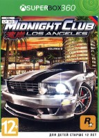 MIDNIGHT CLUB: Los Angeles X-BOX360