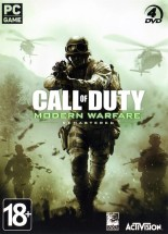 Call of Duty Modern Warfare Remastered [4DVD]
