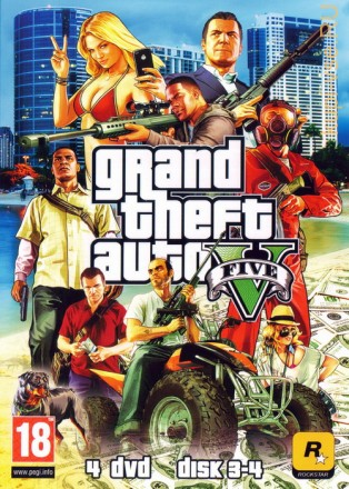 GTA 5 (UPDATE 5) [4DVD]