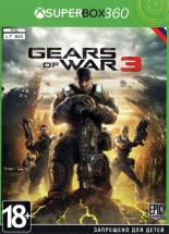 Gears of War 3 [Full Rus] XBOX360