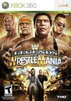 WWE Legends of Wrestlemania RUS  X-BOX 360