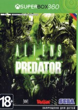 Aliens vs Predator (Русская версия)  XBOX360