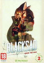 BLACKSAD: UNDER THE SKIN [2DVD] - Adventure / Detective 18+ (типа L.A.Noire)