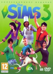 THE SIMS 3 GOLD EDITION (21 В 2) [2DVD]
