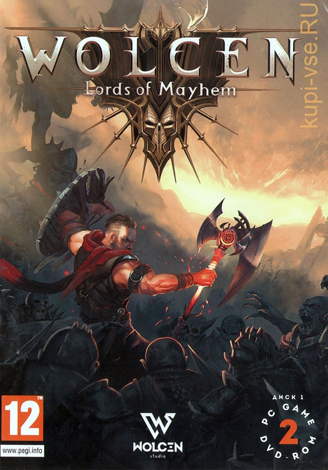 WOLCEN: LORDS OF MAYHEM [2DVD] - RPG / Action - клон Diablo 3