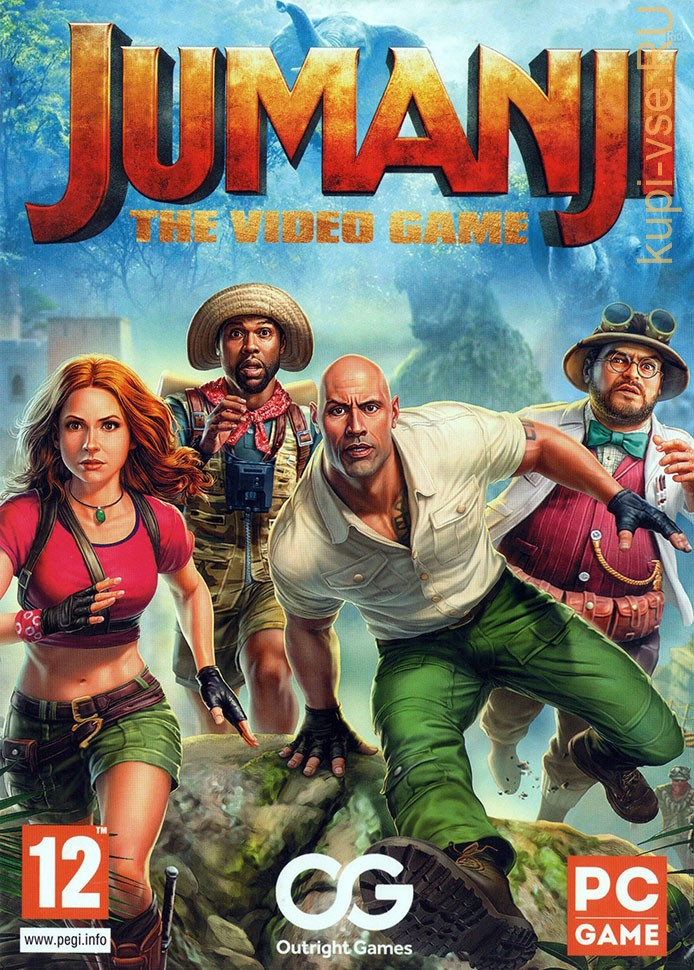 JUMANJI: THE VIDEO GAME - Action - Adventure