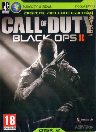 CALL OF DUTY BLACK OPS 2 (ОЗВУЧКА) [2DVD]