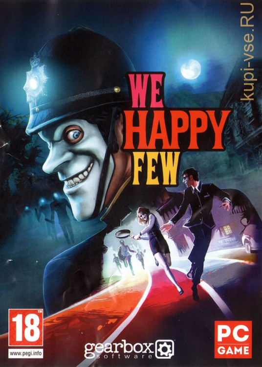 WE HAPPY FEW (ЛИЦЕНЗИЯ)