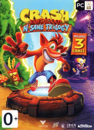 [2в1] Crash Bandicoot N. Sane Trilogy + Plants vs. Zombies™ 2