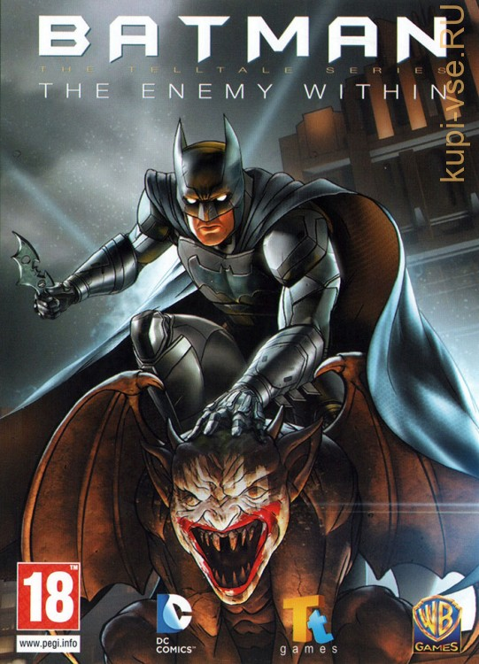 BATMAN THE ENEMY WITHIN (ЛИЦЕНЗИЯ)
