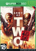 Army of TWO The 40 Day (Русская версия) XBOX360